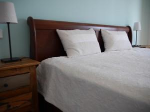 Soveværelse grønt